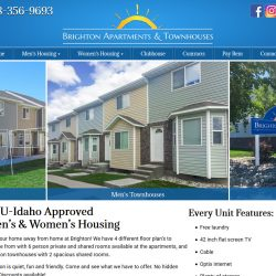 Responsive website for a Rexburg Housing Unit.